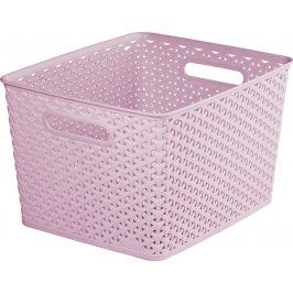 CURVER 41155 KOŠ PLASTOVÝ  box - L - růžový