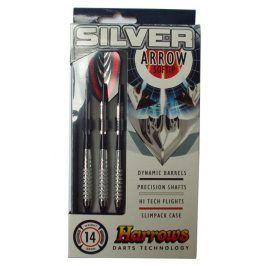 Harrows SOFT SILVER ARROW Šipky s plastovým hrotem 16g