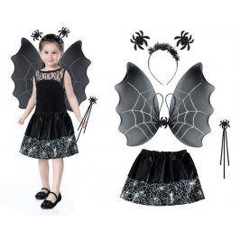 ISO 6408 Kostým čarodějka- černá