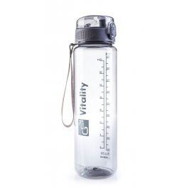 G21 59924 Láhev na pití, 1000 ml, šedá