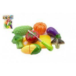 Teddies 58949 Krájecí ovoce a zelenina plast 9ks v sáčku 19x25cm