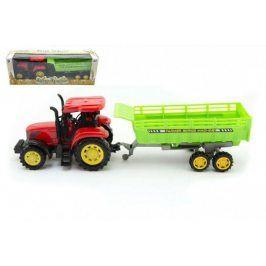 Traktor s vlekem plast 3na setrvačník v krabici