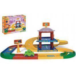 Teddies Kid cars 3D Wader 50523 Garáž 2 patra 3,4 m 90x57cm