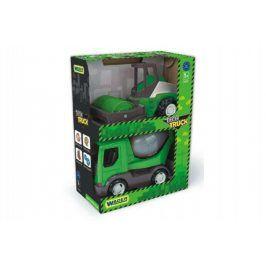 Tech truck 2v1 Wader Auto stavební plast 23cm