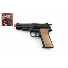 Teddies Pistole na kapsle 8 ran kov 14 cm na kartě