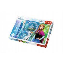 Teddies Ledové království/Frozen 49382 Puzzle 200 dílků 48x34cm v krabici 33x23x4cm