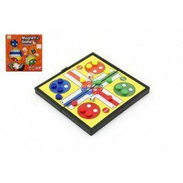 Člověče, nezlob se Magnetické malé společenská hra v krabičce 13x13x1,5cm
