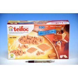 Teifoc Stavebnice Cihličky 100ks v krabici 29x18x8cm