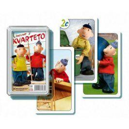 Pat a Mat I společenská hra - karty v plastové krabičce 6x2cm