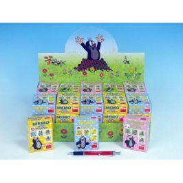 Krtek Minipexeso 6,společenská hra v papírové krabičce - barvy