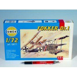 Teddies Fokker DR.1 Model 1:72 8,01x9,98cm v krabici 25x14,5x4,5cm