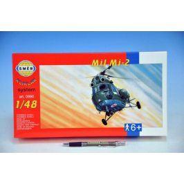 Teddies Kliklak Vrtulník Mil Mi-2 Model 27,6x30cm v krabici 34x19,5x5,5cm
