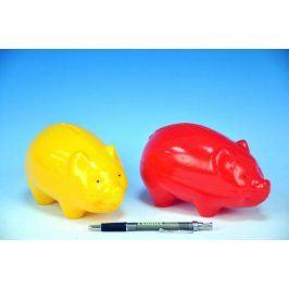 Prasátko Pokladnička plast 16cm asst 2 barvy 12m+
