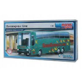 Monti 33 Euroexpress Line-Bus Setra Stavebnice 1:v krabici 31,5x16,5x7,5cm