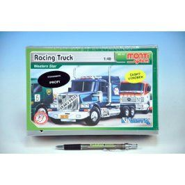 Monti Racing Truck Western star Stavebnice 1:v krabici 22x15x6cm