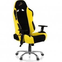 RACEMASTER® RS Series 47007 Kancelářská židle - černá/žlutá