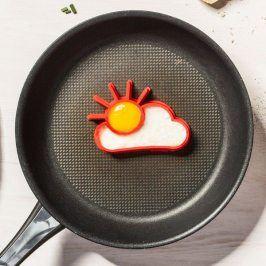 Forma na omeletu nebo palačinky - Sluníčko a mráček