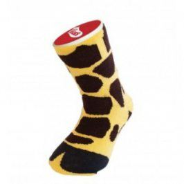 Dětské bláznivé ponožky - žirafa