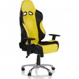 RACEMASTER® RS Series 32564 Kancelářská otočná židle, černá/žlutá