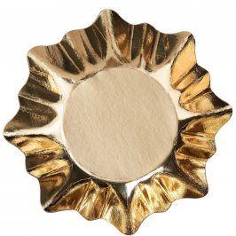 X-MAS Zlatý talíř set 3 ks