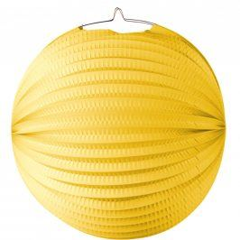 LA BOUM Lampion 31 cm - žlutá