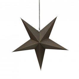 LATERNA MAGICA Papírová dekorační hvězda 60 cm - šedá
