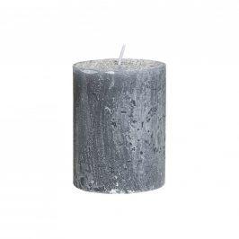 RUSTIC Svíčka 9 cm - šedá