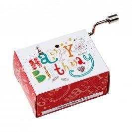 SING A SONG Hrací skříňka Happy Birthday klasik