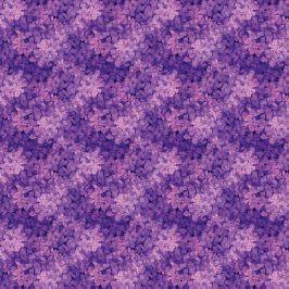 SURPRISE Balicí papír květiny - lila