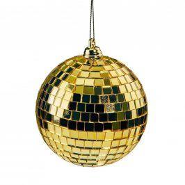 MINI DISCO Disko koule 8 cm - zlatá