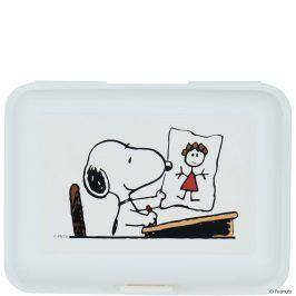 PEANUTS Svačinový box Snoopy ve škole