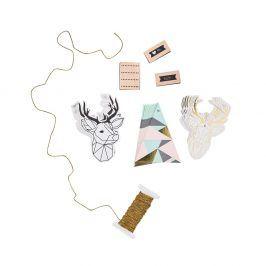 REINDEER Set na balení dárků jelen