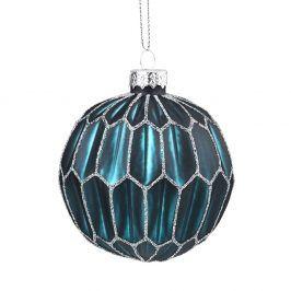 HANG ON Ozdoba vánoční koule kostky 8 cm