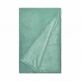 LAZY DAYS Flísová deka 150 x 200 - mátová