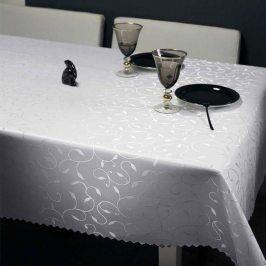 Ubrus Liliana bílý 80x80 cm bílá