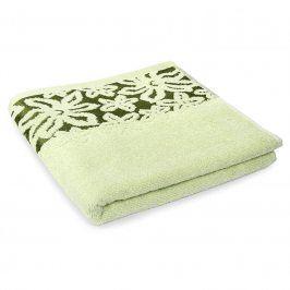 Ručník Fiore zelený 50x90 cm Ručník
