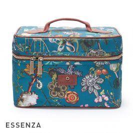 Kosmetický kufřík Essenza Tracy Petrol kosmetická taštička petrolejová