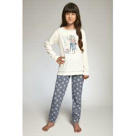 Dívčí pyžamo Cornette Selfie  vícebarevná