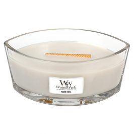 WW svíčka ve skle loď Warm Wool  smetanová