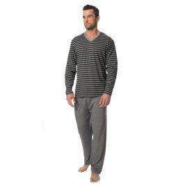 Pánské pyžamo ROSSLI Adrien  šedá