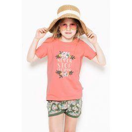 Dívčí pyžamo Flowers  vícebarevná