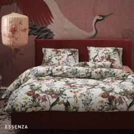 Povlečení Essenza Home Airen Ecru 140x200 jednolůžko - standard Bavlněný satén