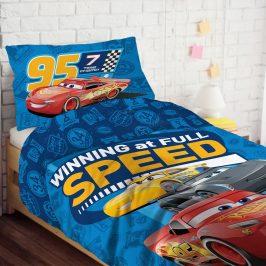 Dětské povlečení Cars 140x200 jednolůžko - standard bavlna