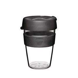 Cestovní hrnek Keepcup černý skleněný 340 ml Objem: 340ml Cestovní hrnek