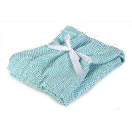 Pletená dětská deka Tully mátová 75x100 cm mátová