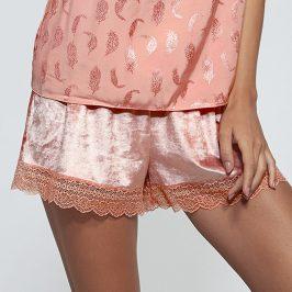 Luxusní šortky Elena  růžová