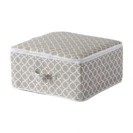 Textilní úložný box Madison small 45x45 cm šedá