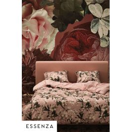 Povlečení Essenza Home Dusty Rose 140x200 jednolůžko - standard Bavlněný satén
