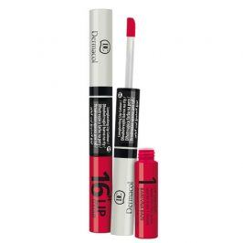 Dermacol Lip Colour dlouhotrvající barva na rty a lesk 2v1 16h  č.10