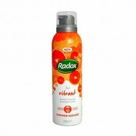 Radox sprchová pěna Feel Vibrant 200 ml